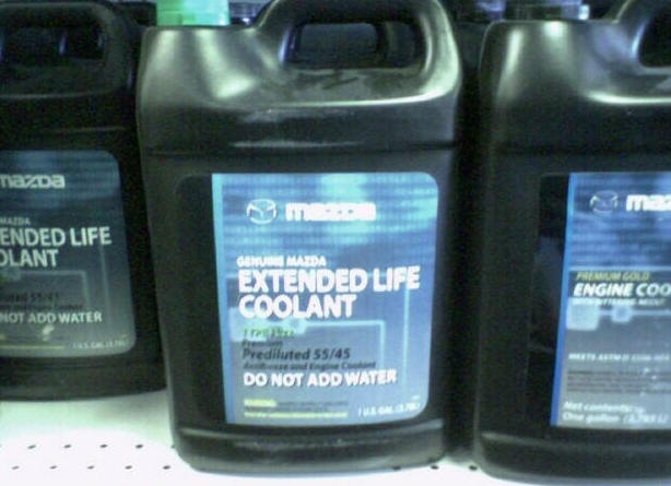 How To Flush Coolant System >> Coolant